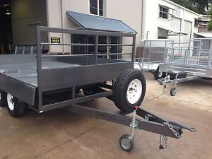 NEW 3600MM X 2490MM FLAT TOP TRAILER RATED TO 3500KG AUSSIE MADE Gympie Gympie Area Preview