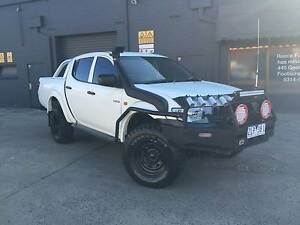 2007 Mitsubishi Triton GLX 3.2L Turbo 4x4 LOADED WITH EXTRAS West Footscray Maribyrnong Area Preview