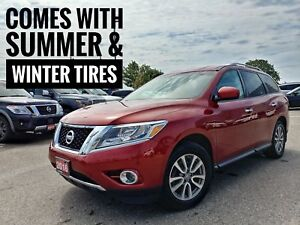 2016 Nissan Pathfinder SV AWD One-Owner  FREE Delivery