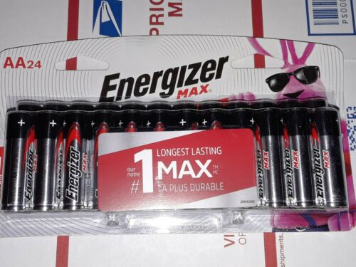 Energizer Batteries - 24 Pack  exp12/2029