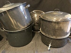 Speckled Canning Pots $50 OBO