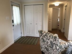 Fully furnished 1 bedroom above ground apartment