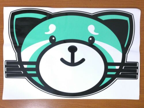 THE WEEKND - KISSLAND Rare Large Promo Cat Sticker STARBOY After Hours Album XO