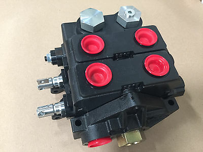 Parker Gresen Hydraulic Valve V20 Replacement 2 Cylinder Spools Double Acting