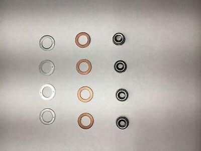 Kubota Engine 4 Cylinder Injector Seal Kit W19077-53650 Heat Shield 0503ev3