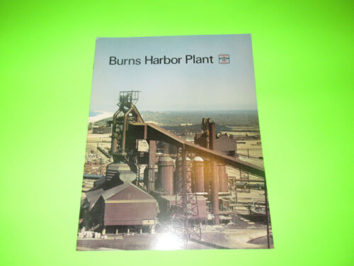 VINTAGE BETHLEHEM STEEL BURNS HARBOR PLANT BOOKLET BROCHURE