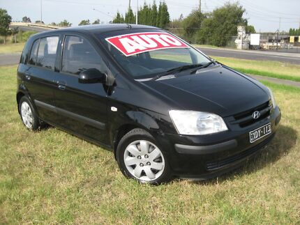 HYUNDAI GETZ GL HATCHBACK AUTO 12 MONTHS WARRANTY Thomastown Whittlesea Area Preview