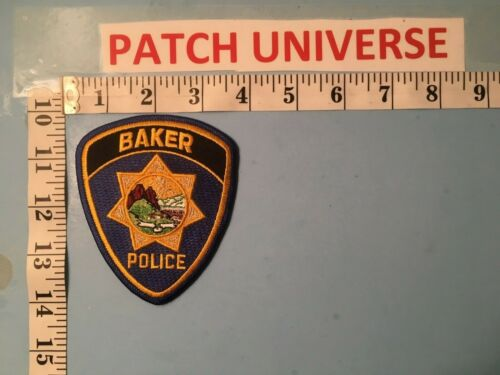 BAKER MONTANA  POLICE  SHOULDER PATCH  M002