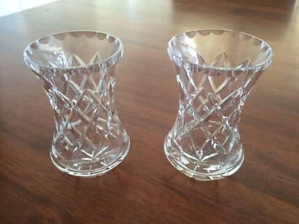 Vintage Crystal Vase In Perfect Condition Vases Bowls Gumtree