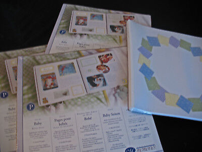 Creative Memories Baby 12x12 Scrapbook Pages Refill New Sealed Creative Memories 12x12 Scrapbook