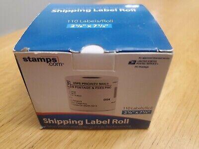 Stamps.com Prolabel Dymo 99019 Seiko Slp-fw Zebra Lp 2844 150 Labels