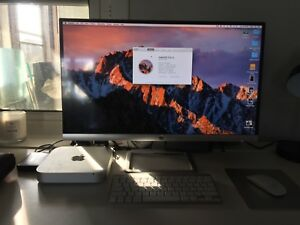 "1TB MAC MINI + 27"" HP monitor"