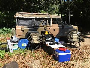 1990 Land Rover 110 4x4 FFR Soft Top Camper with ALL the gear! Uki Tweed Heads Area Preview