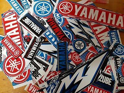 Lot Set of 10 Yamaha Stickers Racing Motorcycle Motocross YZ YZF R1 R6 FZ Raptor