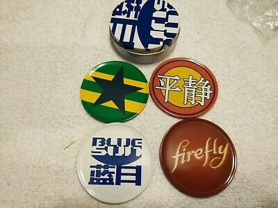 QMX Firefly Serenity Coaster Set of 4 Bar Ware NEW Licensed