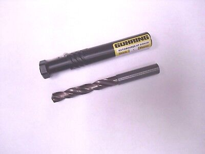 9mm Guhring Carbide Coolant Drill 2f