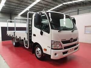 2019 Hino 616 Medium Auto 4x2 Alloy Tray H01804 Breakwater Geelong City Preview
