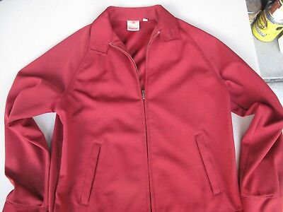 """Vintage Red Men's Jacket """"Outerknits"""" Collection by Campus Medium"""