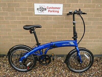 VIKING GRAVITY ELECTRIC FOLDING BIKE ADULTS ALI FRAME 20 INCH WHEELS ref 11182