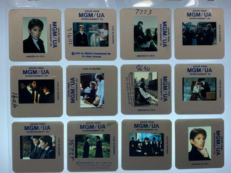 12 Yentl Movie 35mm Slides Barbra Streisand Press Promo Vtg 1983 Lot #1