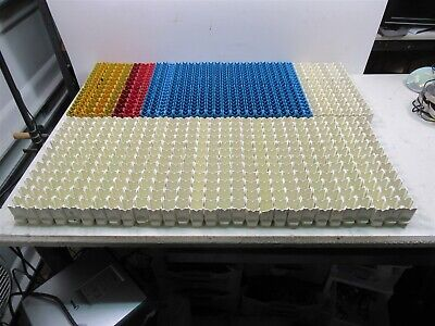 Large Lot Of Beckman Coulter Ls 6500 Scintillation Counter Racks 64 Units Total