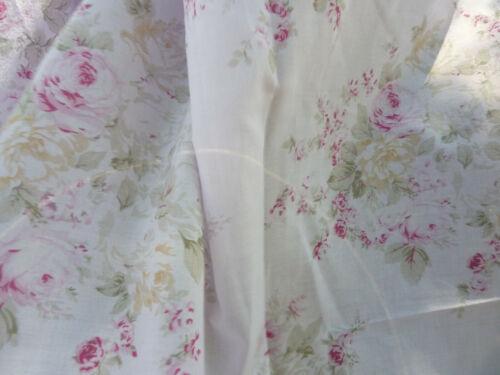 Rachel Ashwell Shabby Chic Boutique RARE Roseblossom PINK Lawn Fabric