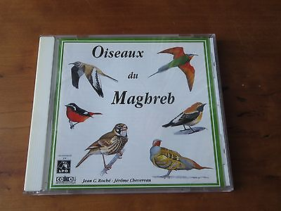 Oiseaux Du Maghreb Birds Of North West Africa Roche Chevereau Ceba Anthology