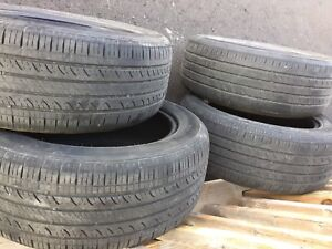 4 Hankook all-season tires 205/55R16 50$