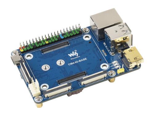 Waveshare Mini Base Board Designed For Evaluating Raspberry Pi Compute Module 4