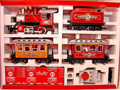 G Scale G Gauge LGB 72326 The Neiman Marcus Christmas Train Set Ready To Run NOB