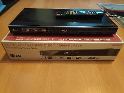 LG Electronics BD560 schwarz Blu Ray Player