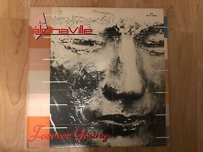 Alphaville ‎– Forever Young 1984 Atlantic ‎80186-1 Jacket VG+ Vinyl NM