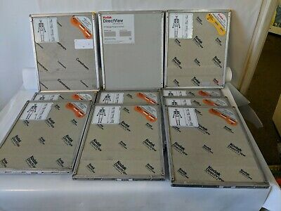Lot Of 10 Kodak Pq Directview Cr Cassette Storage Phosphor Screen X-ray 10x12