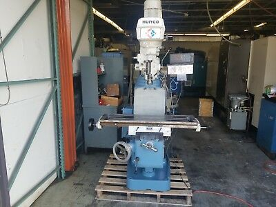 Hurco Sm1 3hp Vertical Milling Machine Sony Digital Read Out Dro Miill Manual