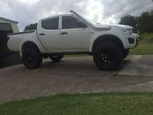 Triton 2014 Not Toyota Hilux ford Ranger Nissan Navara Mazda bt50 Edgeworth Lake Macquarie Area Preview