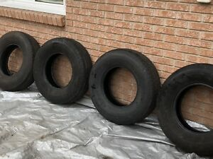 Set of 4 Goodyear Marathon trailer tires