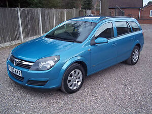 VAUXHALL-ASTRA-ESTATE-CLUB-CDTi-100-1-7-DIESEL-05-Reg-METALLIC-BLUE