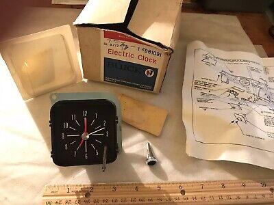 NOS GM Buick Borg Electric Dash Clock #981091, Circa 1960s
