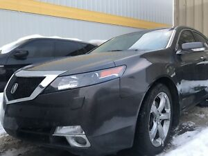 2009 Acura TL, for parts only