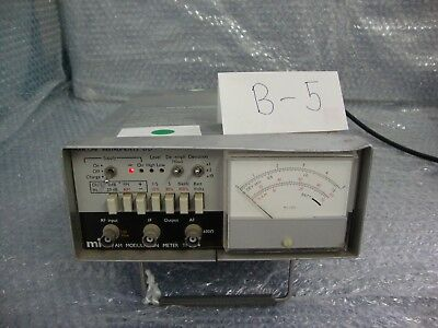 Marconi Amfm Modulation Meter Tf 2304 For Part Only