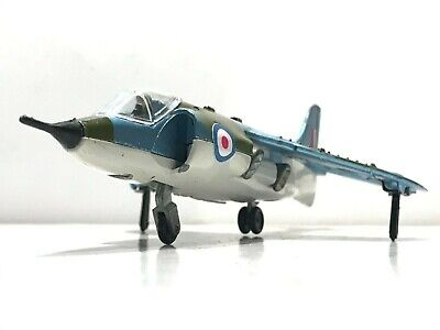 ✈️ DINKY TOYS No.722  HAWKER HARRIER SIDDELEY JUMP JET FIGHTER Diecast Aircraft
