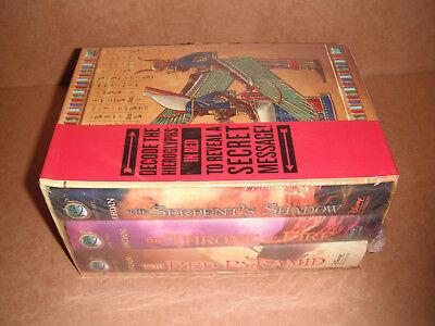 The Kane Chronicles Hardcover Boxed Set by Rick Riordan