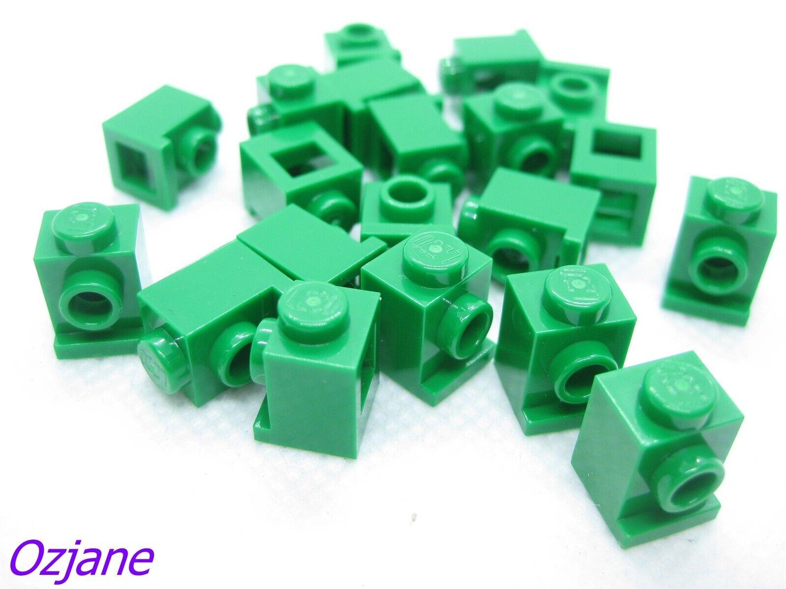 Lego 5 New White Bricks Modified 1 x 1 with Headlight Pieces