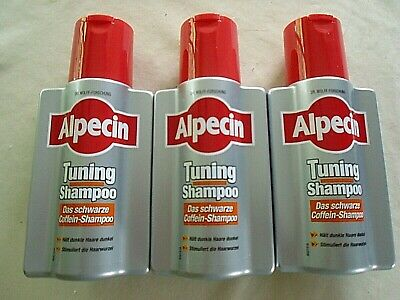 ALPECIN Tuning Shampoo / 3 Flaschen NEU