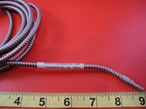 Banner IT285 Sensor Fiber Optic Stainless Steel Glass 17363 used