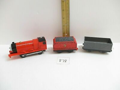 Trackmaster Lot James Motorized Train, Snowy Tender & Troublesome Truck Play Set