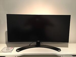 Curved Ultrawide LG 29 inch monitor