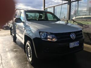 2014 VW amarok flat tray ute low k's North Hobart Hobart City Preview