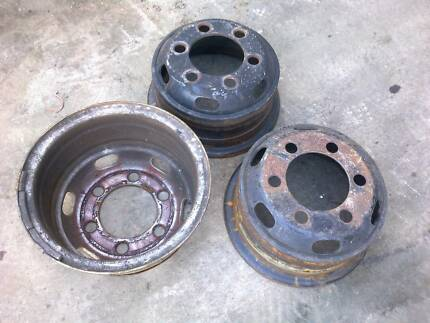 "16"" steel wheels suit japanese trucks"