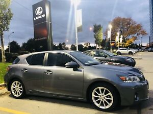 2012 LEXUS CT 200H Touring Package WINTER READY